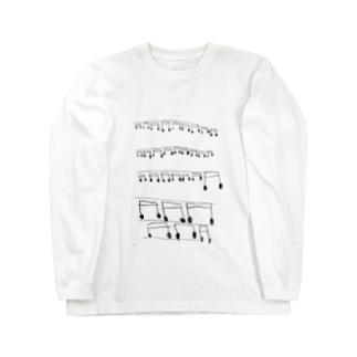 Tもの by amara Long sleeve T-shirts