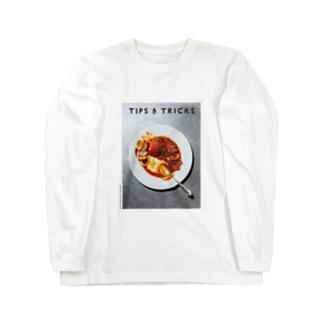 ワタリガニのブイヤベース Long sleeve T-shirts
