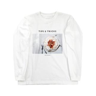 イチジクのパブロバ Long sleeve T-shirts