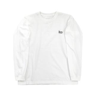 いとうロゴ Long sleeve T-shirts