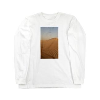 サハラ砂漠 Long sleeve T-shirts