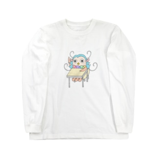 アマビエさん(はーい) Long sleeve T-shirts
