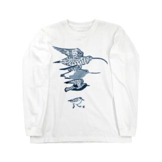 シギチ Long sleeve T-shirts