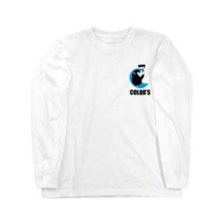 塗装屋カラーズ(猿 Long sleeve T-shirts