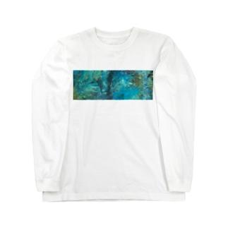 海底ひゃくおくまんキロメートル Long sleeve T-shirts