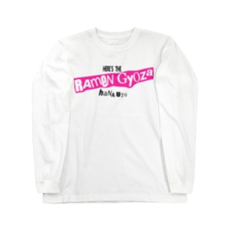 HERE'S hAnAuta Long sleeve T-shirts