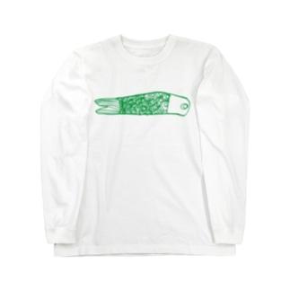 こいのぼり Long sleeve T-shirts