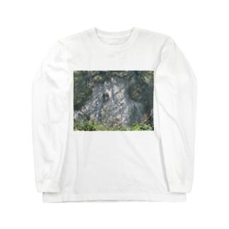 ヤマノキズ Long sleeve T-shirts