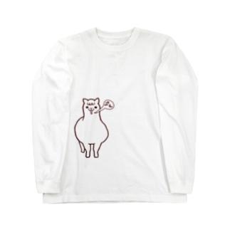 アルパカの鳴き声? Long sleeve T-shirts
