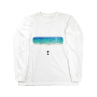 海へ Long sleeve T-shirts
