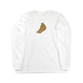 くたびれ Long sleeve T-shirts