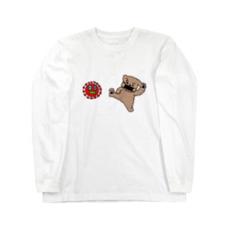 ウィルスばいばいヒーローズ Long sleeve T-shirts