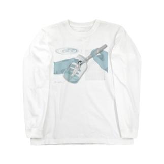 無菌培養 Long sleeve T-shirts