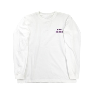HEART Long sleeve T-shirts