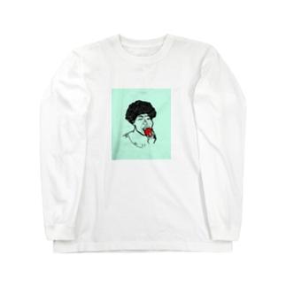 架空人物:きゃんちゃん Long sleeve T-shirts