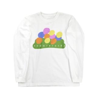 お花畑(概念) Long sleeve T-shirts