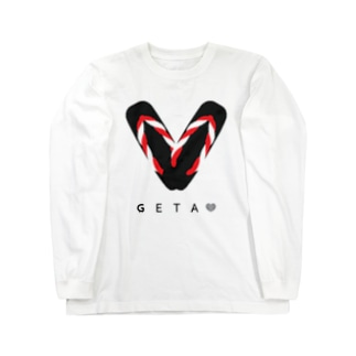 GETA LOVE Long sleeve T-shirts