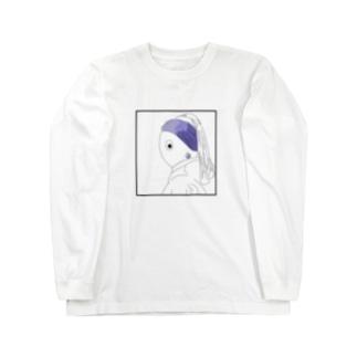 シンジュノミミカザリノヤツ Long sleeve T-shirts