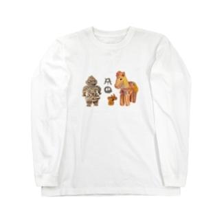 ミカ(ヲシテ文字お名前シリーズ3) Long sleeve T-shirts