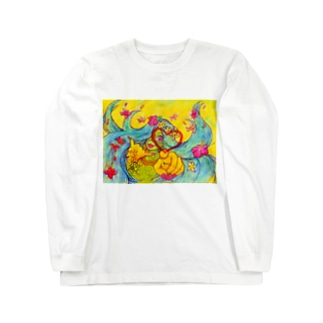 ALOHA Long sleeve T-shirts
