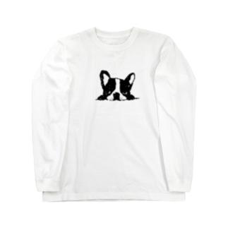 フレンチブルup Long sleeve T-shirts