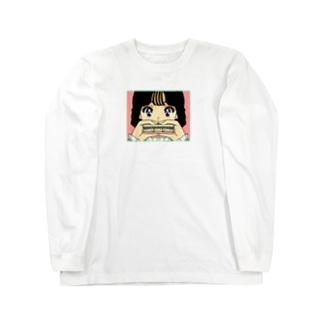nsnのエビサンド Long sleeve T-shirts