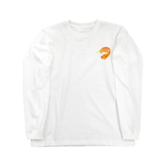 ピラルク ドット Long sleeve T-shirts