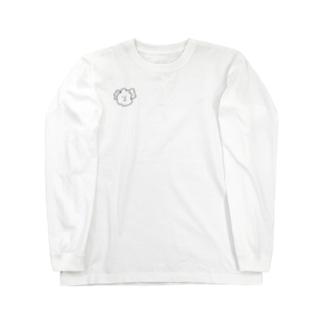 たもたも(色付きのものを買うならコチラ) Long sleeve T-shirts