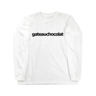 『どうぶつがカラフルでかわいい』gateauchocolat Long sleeve T-shirts