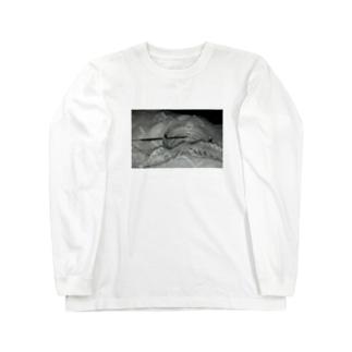 煙草に見せかけてお香 Long sleeve T-shirts