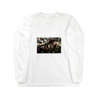 forestisのAre you ready ? Long sleeve T-shirts