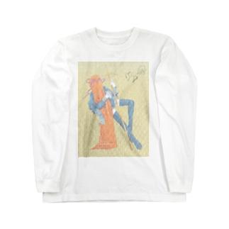 包まれた敬虔な信者 Long sleeve T-shirts