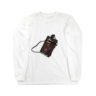 カセット Long sleeve T-shirts