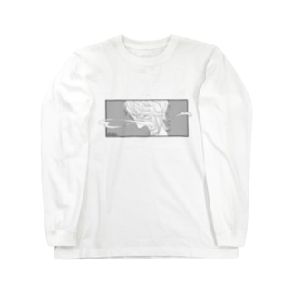 煙くん服 Long sleeve T-shirts