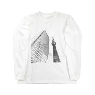 The City 東京スカイツリー Long sleeve T-shirts
