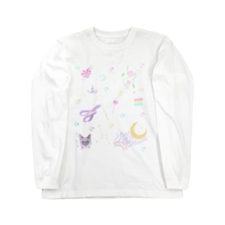 °⑅ʚfancy stitchɞ⑅°. Long sleeve T-shirts