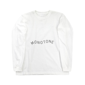 モノトーン Long sleeve T-shirts