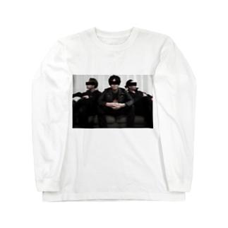 斉藤兄弟フォトシリーズ Long sleeve T-shirts