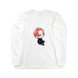 ともやんグッズ Long sleeve T-shirts