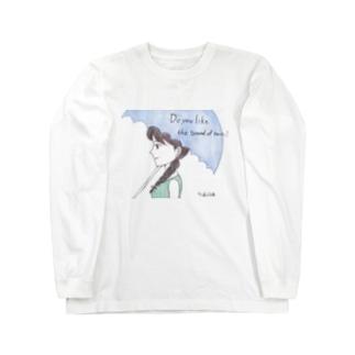 雨の音は好き? Long sleeve T-shirts