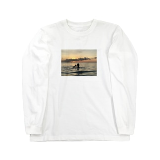 #OuardiniのCarribean Long sleeve T-shirts