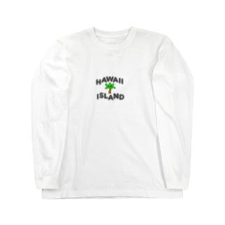 DESIGN SHOPのHAWAII ISLAND Long sleeve T-shirts