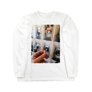 RAT FINK 5392(♂)の昨日の吸い残し Long sleeve T-shirts