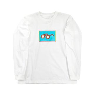 メガネちゃん長袖 Long sleeve T-shirts