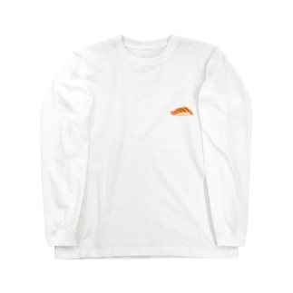大の寿司 サーモン Long sleeve T-shirts