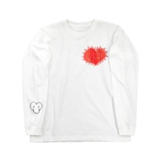 理性 感情 防衛 無防備 Long sleeve T-shirts