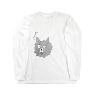 こんぺい工房のビックリたまんご Long sleeve T-shirts
