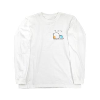 ななの怠け猫のTシャツ Long sleeve T-shirts
