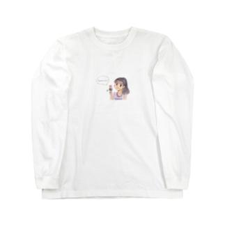 一口ちょーだい!! Long sleeve T-shirts