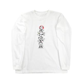 タピオカ・パンダ  Long sleeve T-shirts